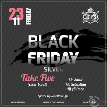 Black Friday Silver Party
