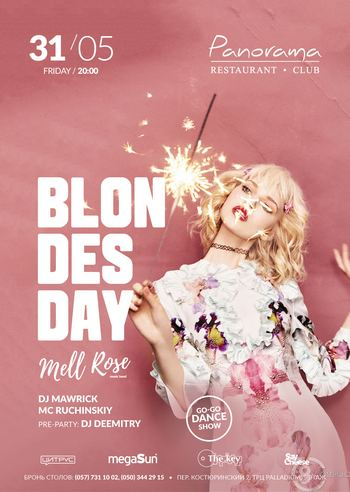 Blondes day