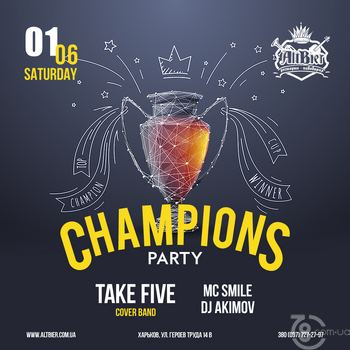 Champions party
