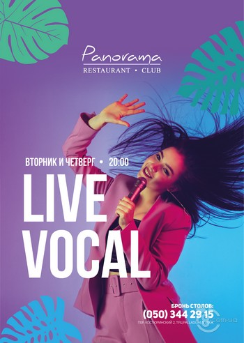 Live Vocal  evenings
