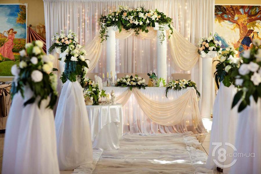 Свадебный интерьер зала фото